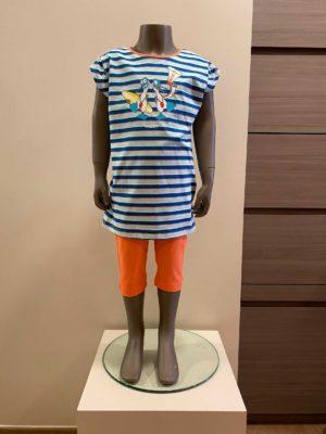 Woody Meisjespyjama zeemeeuw